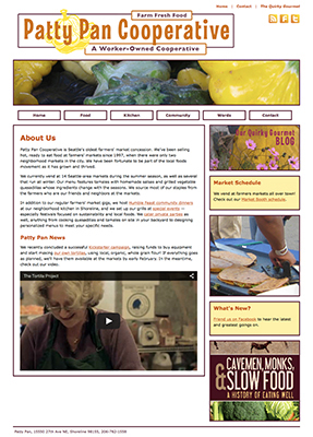 Patty Pan Cooperative website